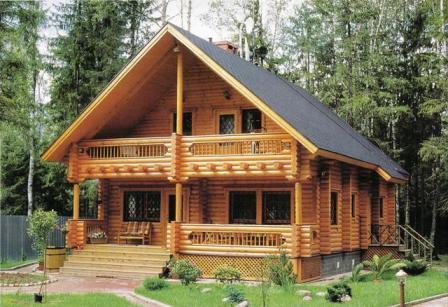 Что значит деревянный дом под ключ